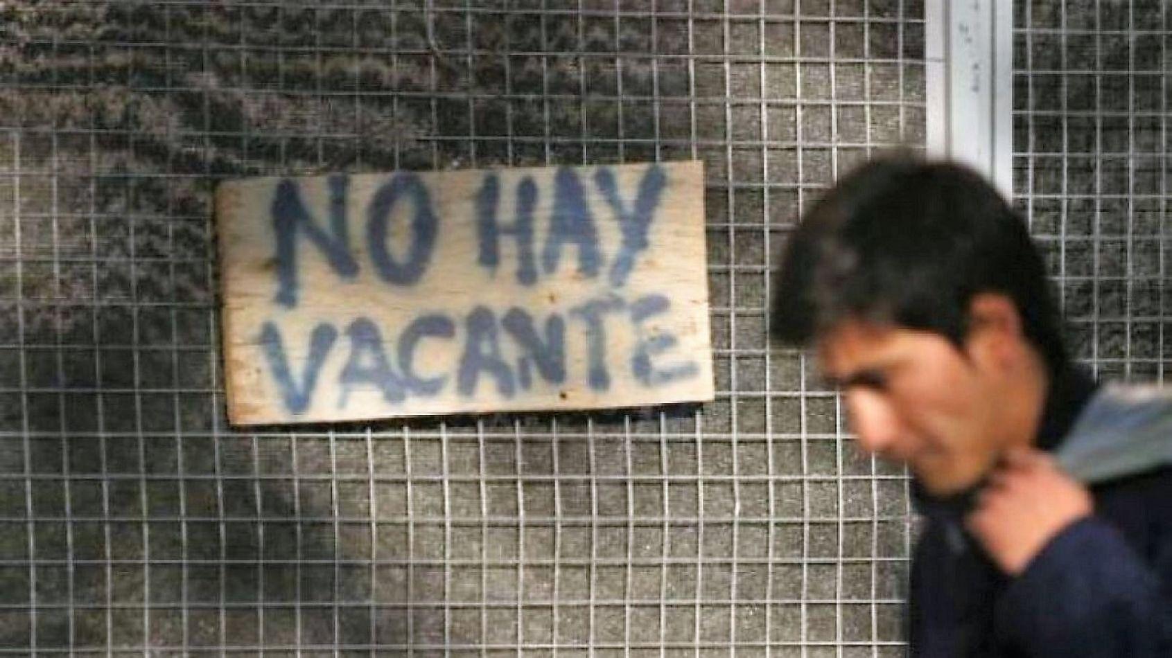 desocupacion,patagonia,indices