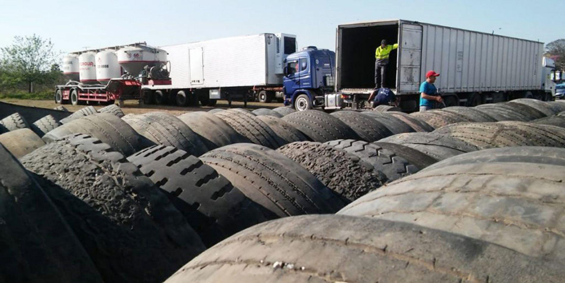 Reutilizan 780 neumáticos como combustible en hornos cementeros