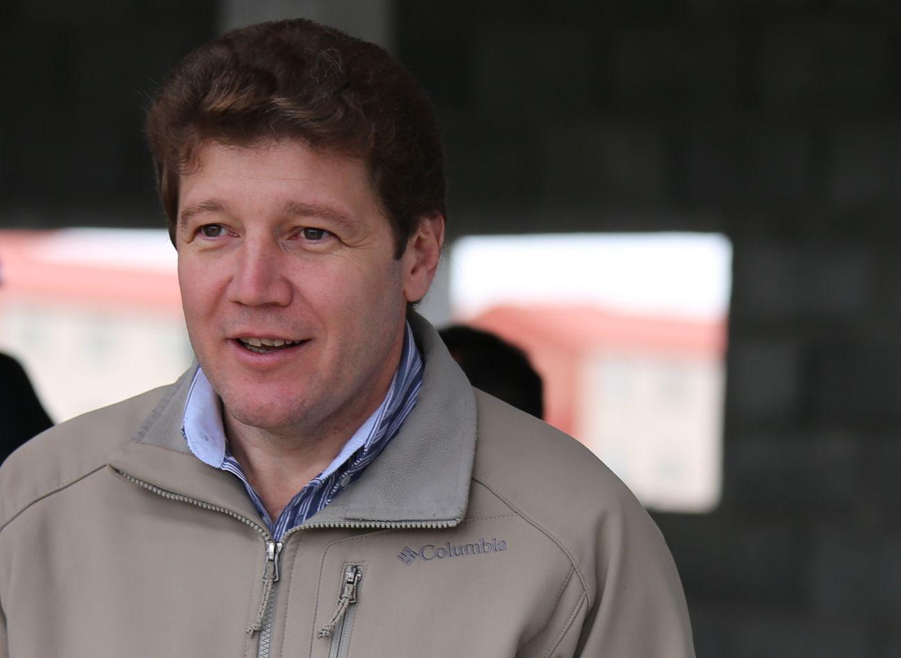 El intendente de la ciudad, Prof. Gustavo Melella
