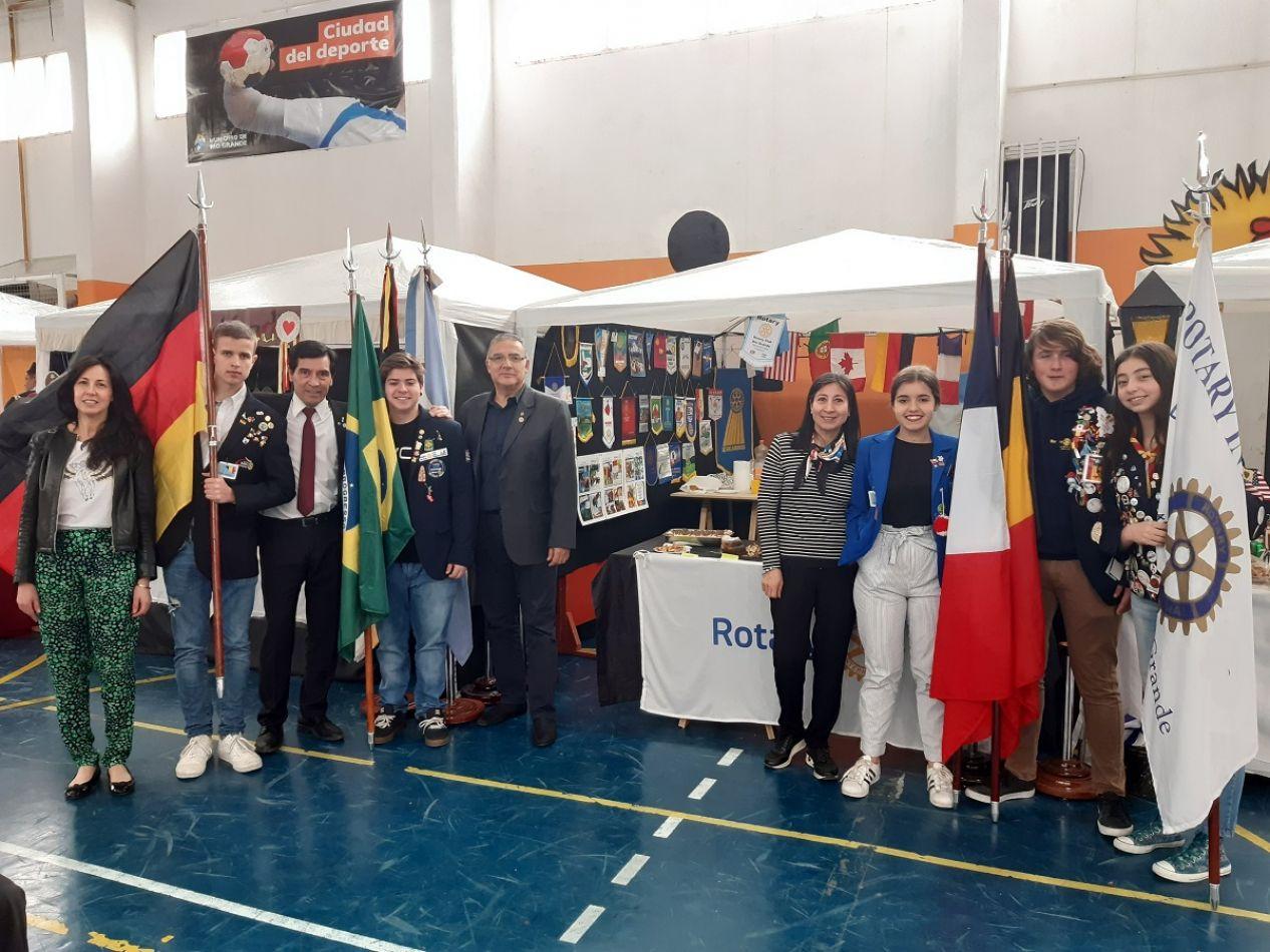 El Rotary Club Río Grande participó de diversas actividades