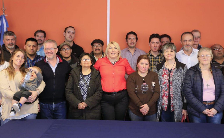 Bertone se reunió con emprendedores PYME de Río Grande y Tolhuin