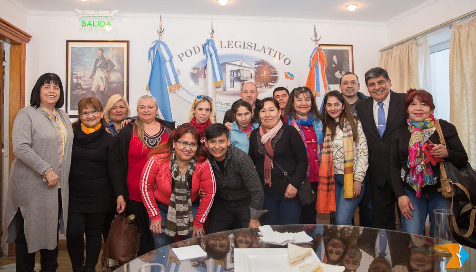 Estudiantes riograndenses visitaron la Presidencia del Parlamento