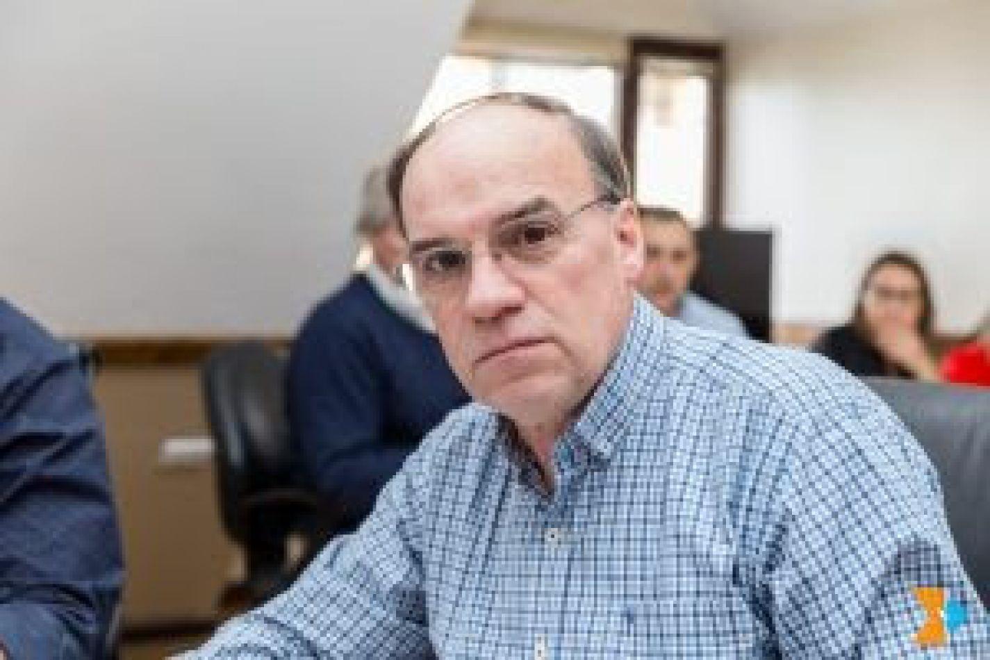 El presidente de la Comisión Nº 2 de Economía y Presupuesto, legislador Pablo Blanco (UCR – Cambiemos)