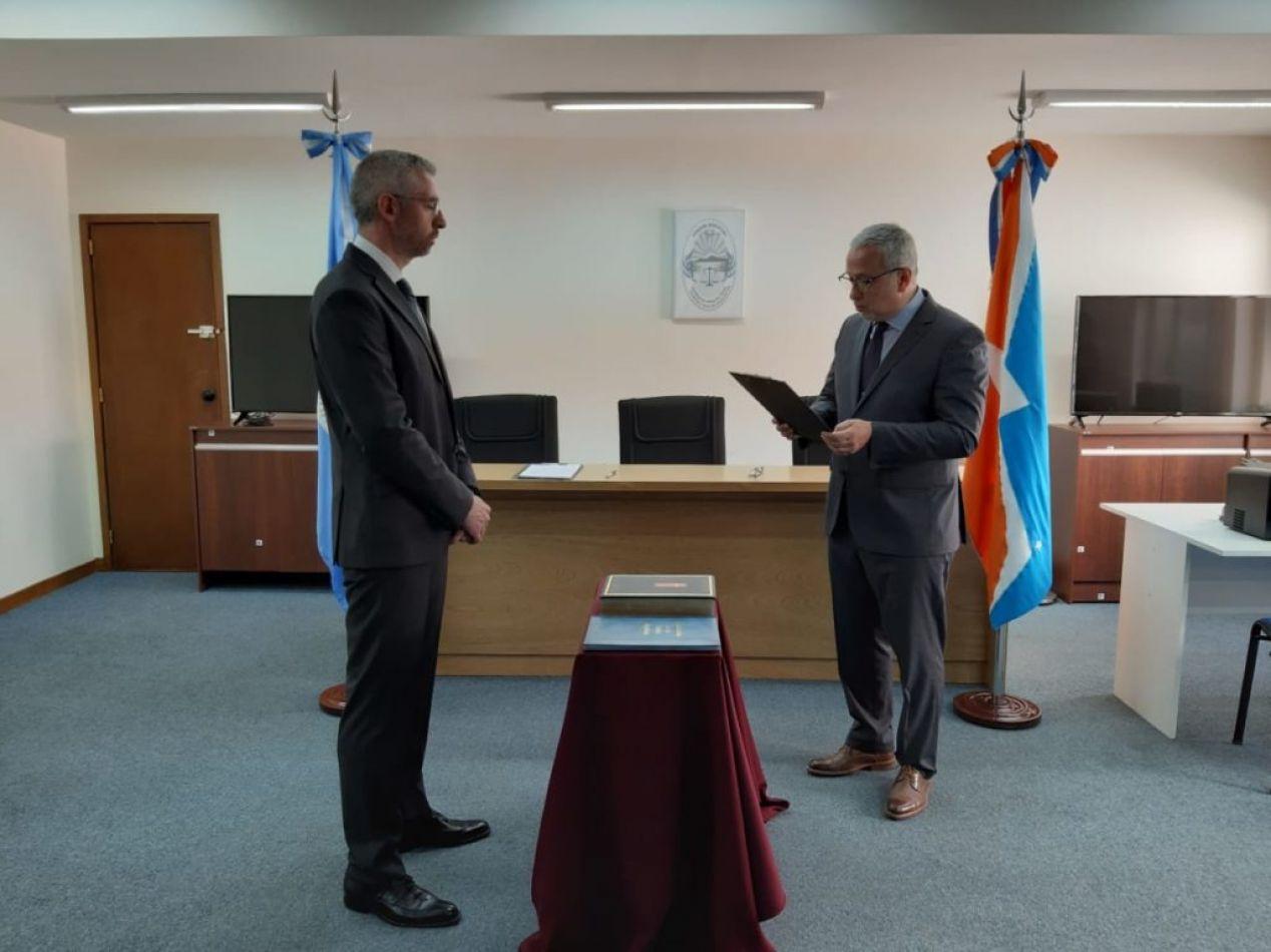 El Dr. Naccarato asumió como Defensor Público Interino de Río Grande