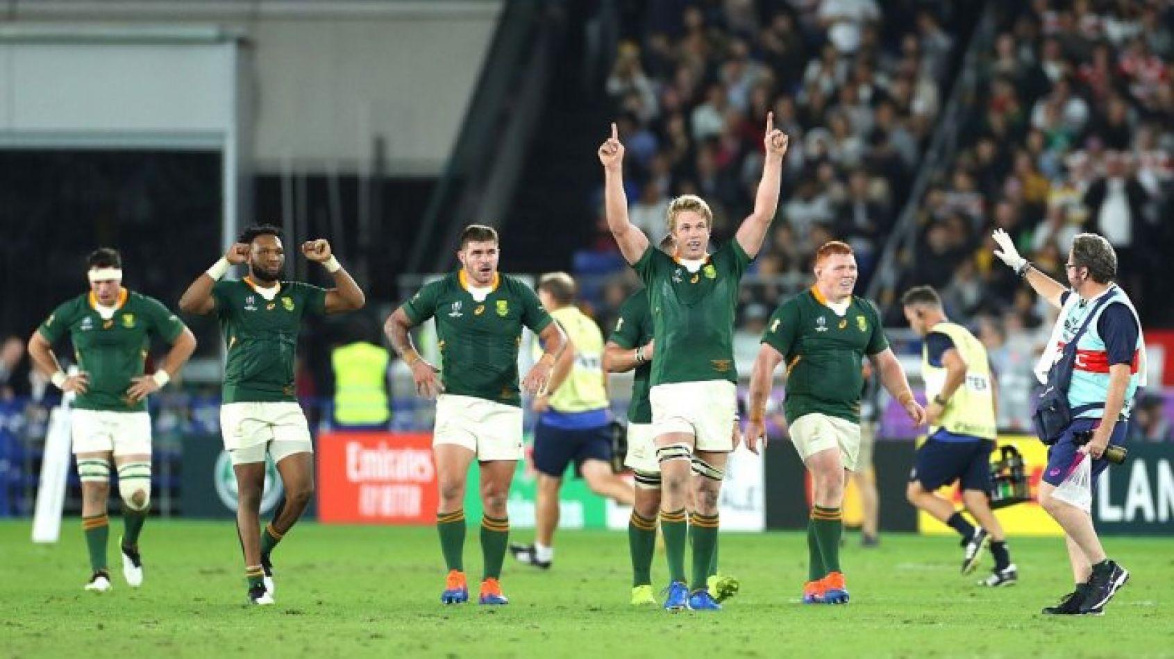 Sudáfrica dominó a Inglaterra y es campeón mundial de rugby