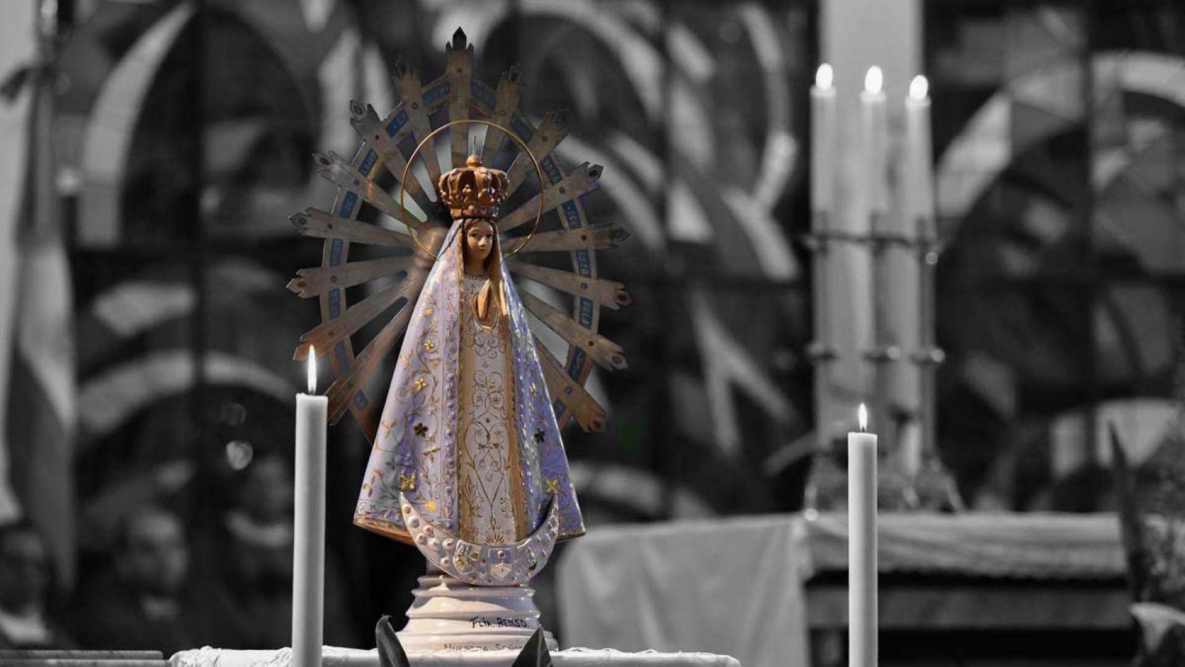 La Virgen de Malvinas regresó al país 37 años después