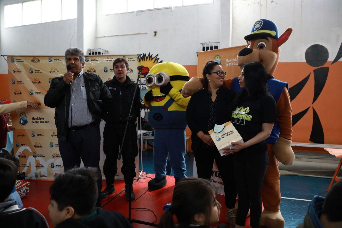 Se realizó la Kermesse educativa de la Dirección Municipal de Tránsito