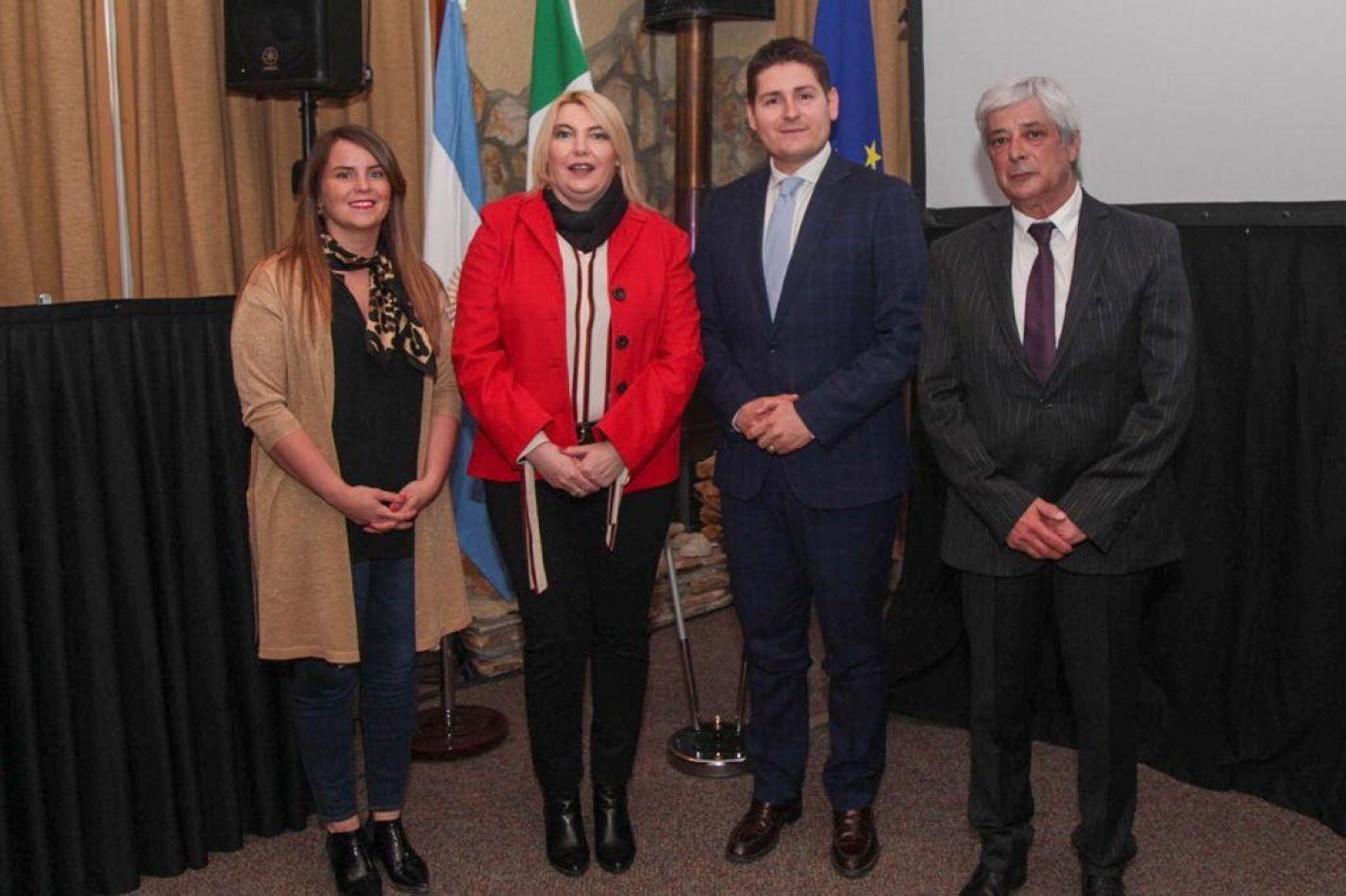 Se inauguró la agencia Consular Honoraria de Italia en Ushuaia