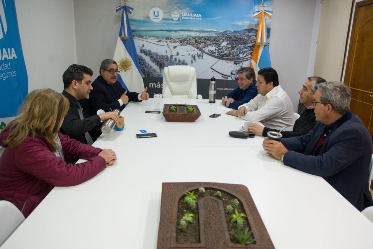 Reunión con el embajador de Guatemala