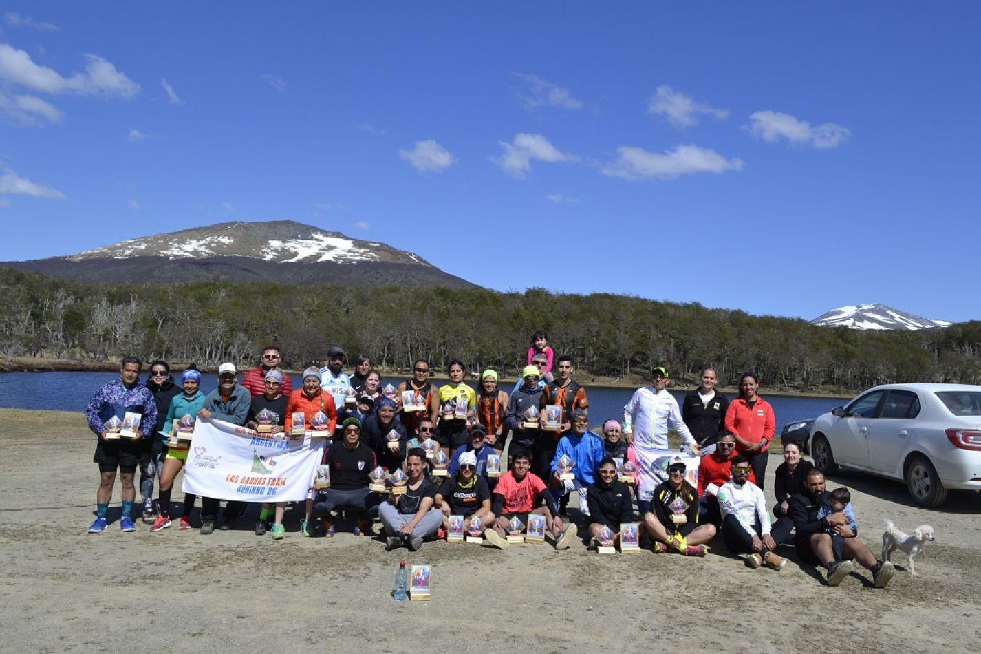 """Corredores de Tierra del Fuego presentes en la 1° edición """"Vuelta a Aguas Blancas"""""""