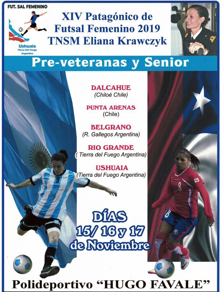 En torneo de futsal femenino homenajearán a Eliana Krawczyk