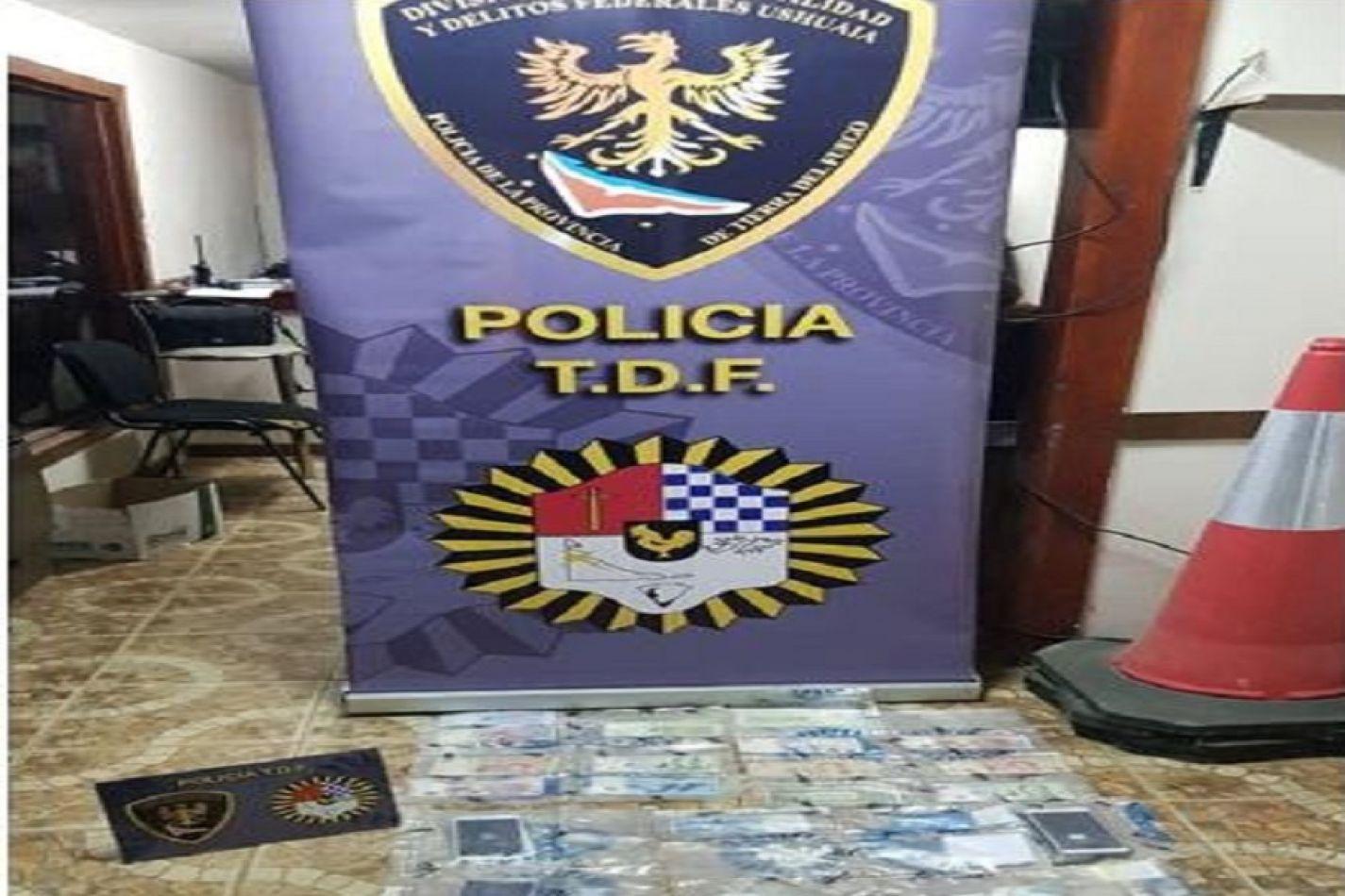 Policia provincial detuvo a dos sujetos que transportaban cocaína en un remis