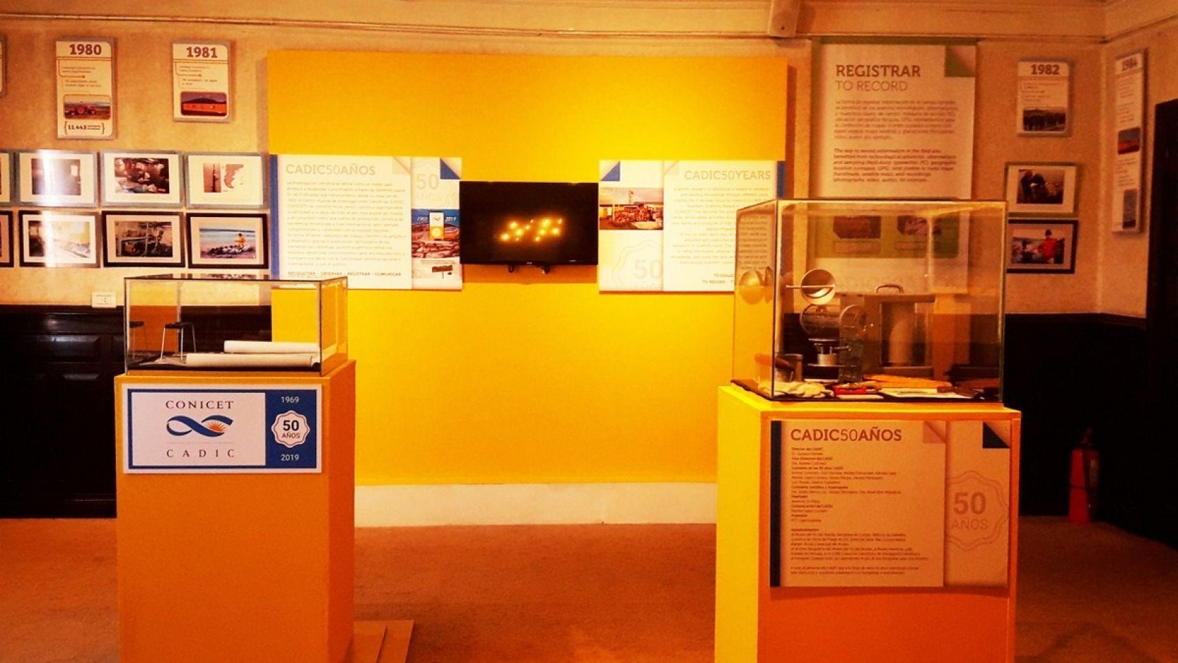 La muestra se lleva a cabo en el Museo del Fin del Mundo (sede Antigua Casa de Gobierno, en Maipú 465) y podrá visitarse durante toda la temporada de
