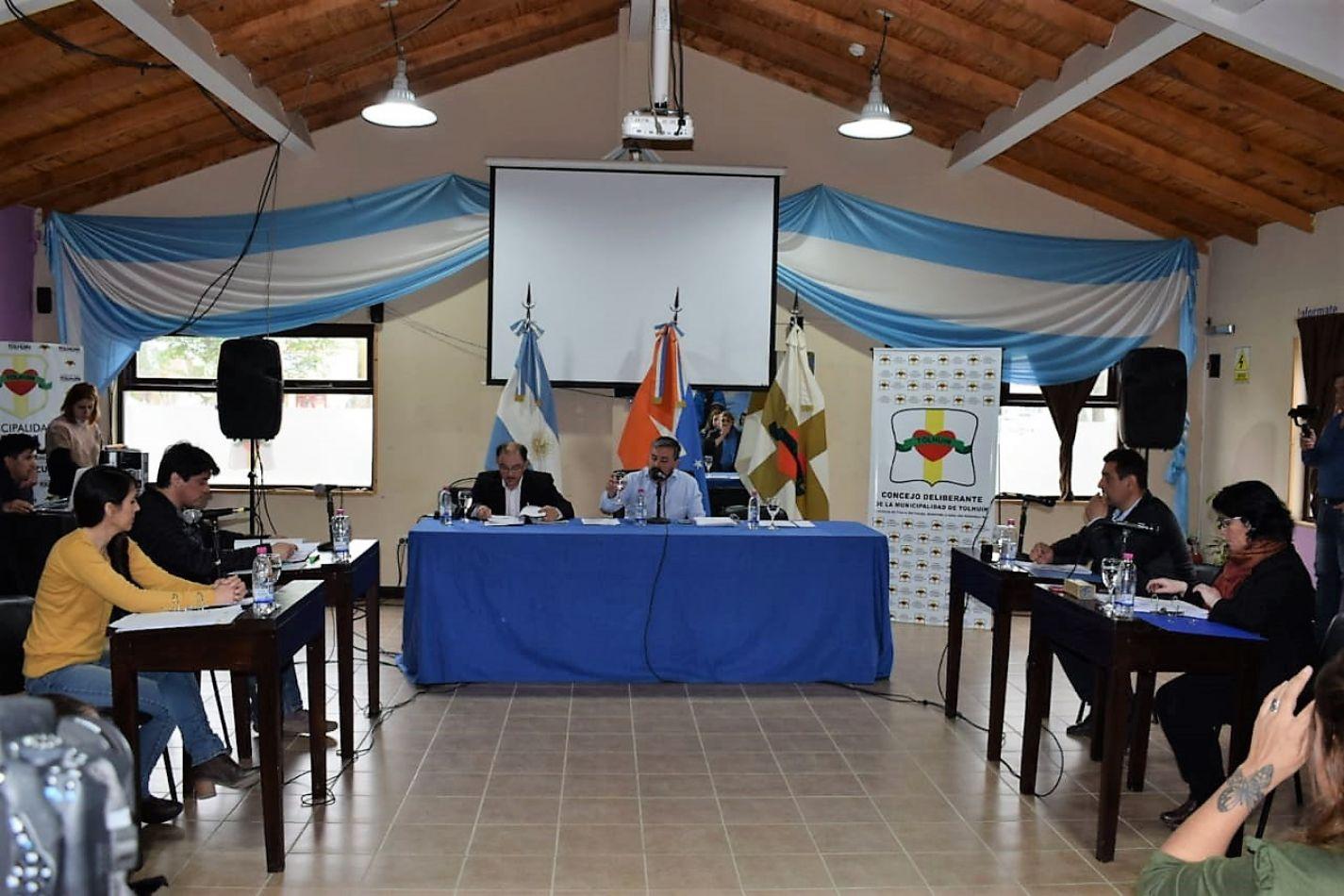 Concejo Deliberante de Tolhuin.