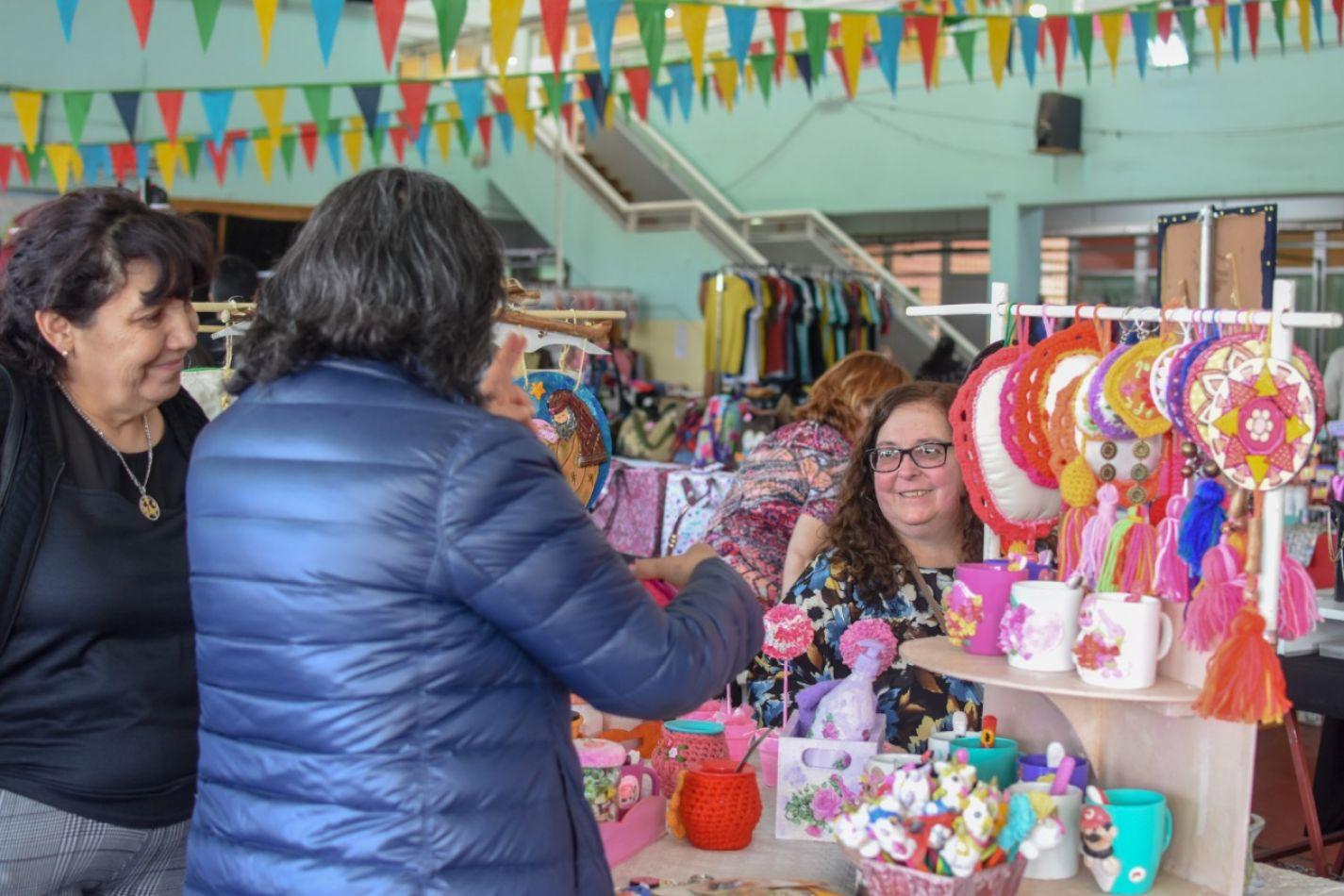 Más de 2400 vecinos en la Feria Popular del último fin de semana largo