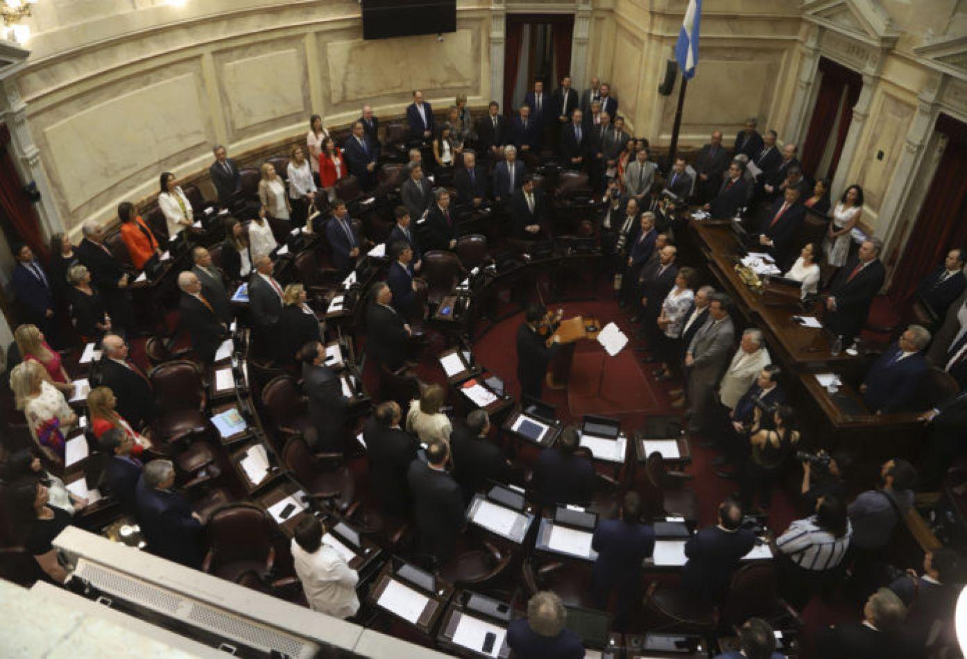 Asumieron los 24 nuevos senadores nacionales