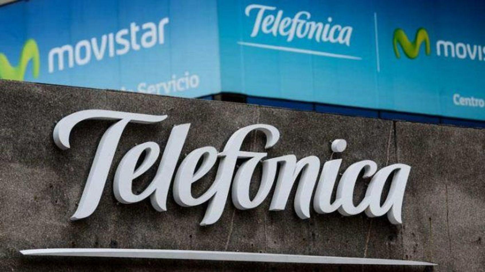 Telefónica se va del país