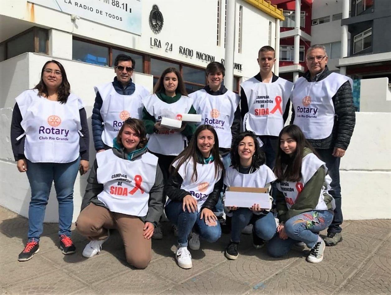 Rotary realizó una nueva campaña de concientización