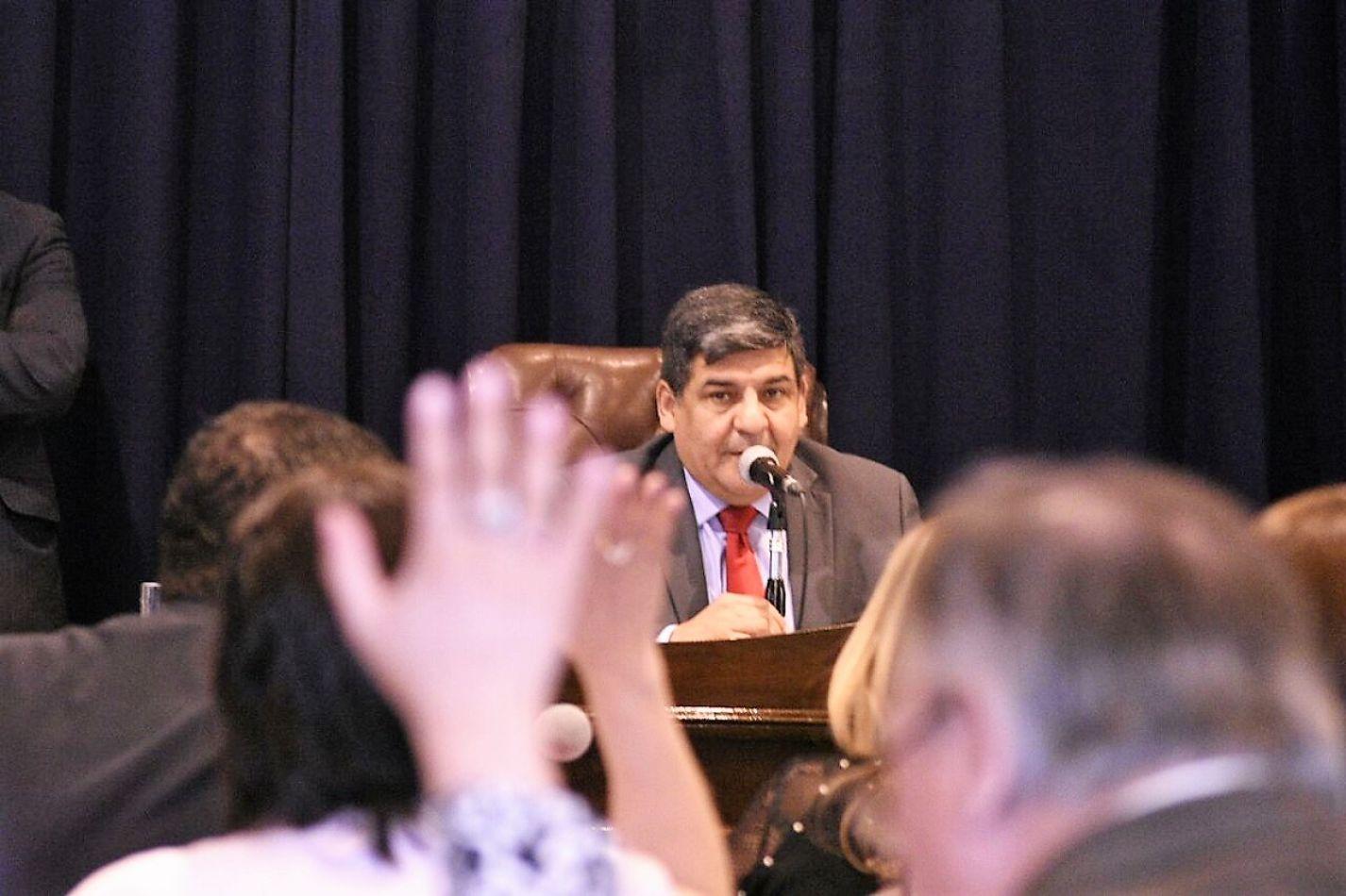 Juan Carlos Arcando, vicegobernador de la Provincia.