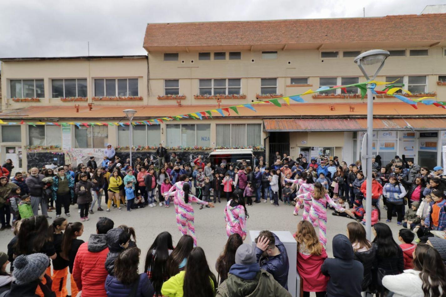 Una jornada dedicada a los derechos de los niños de Ushuaia