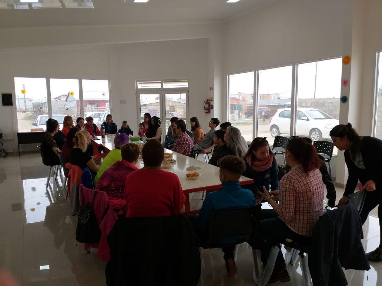 Se realizó el cierre de los talleres en la sede de Promoción Social