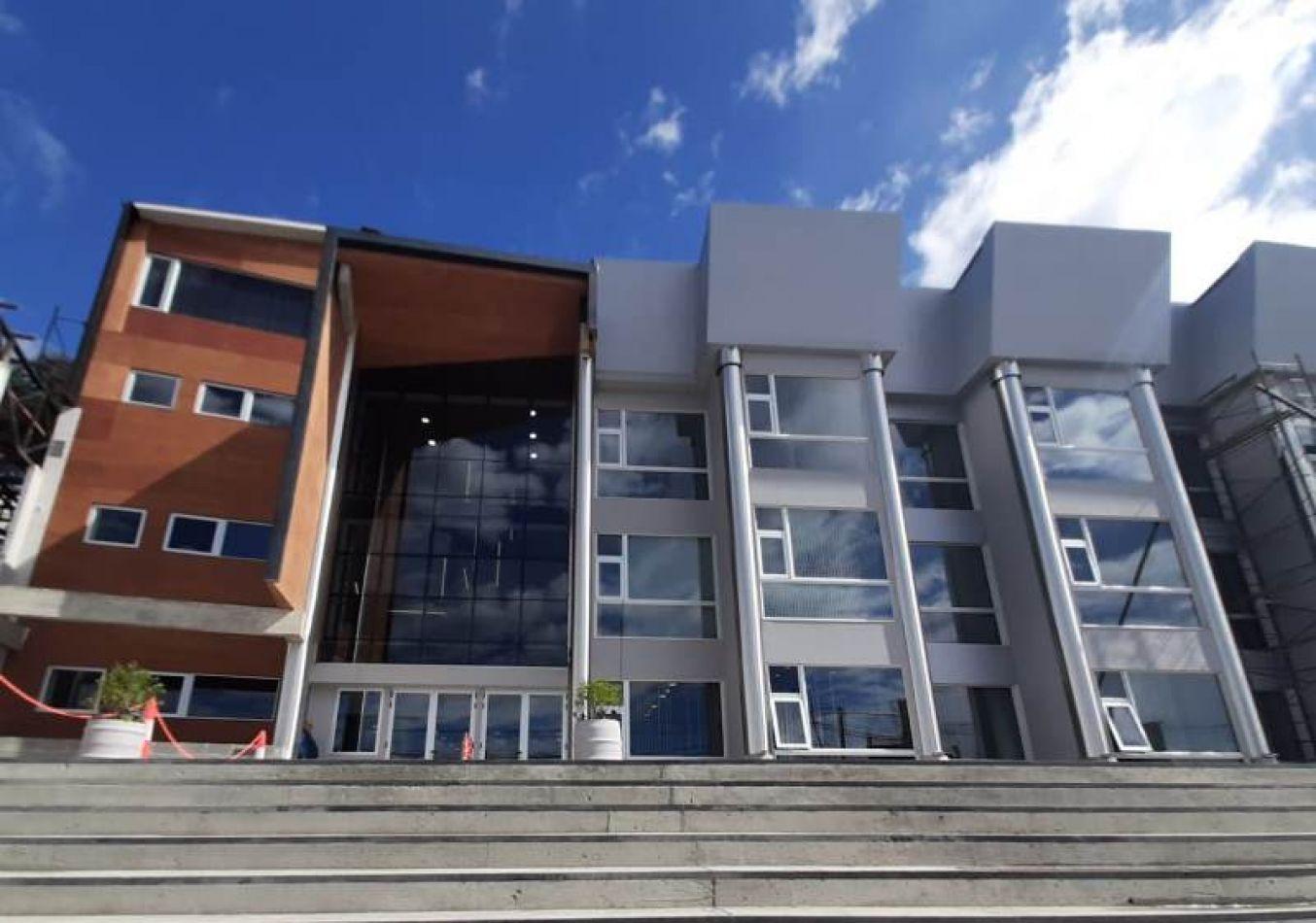 Inauguran primera parte de la sede propia del Superior Tribunal de Justicia