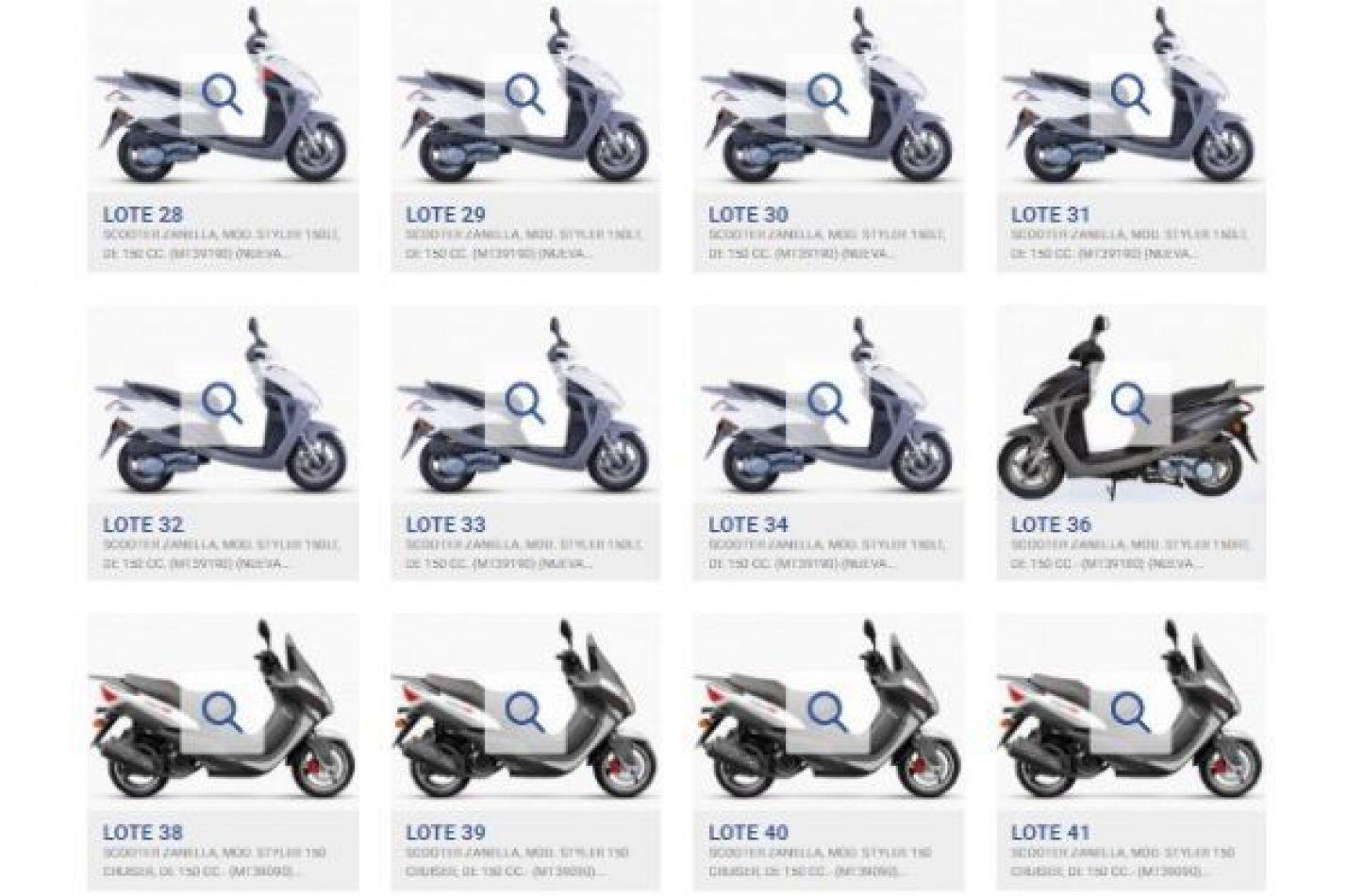 Zanella subasta 500 motos, cuatriciclos y hasta grupos electrógenos: cómo participar del remate
