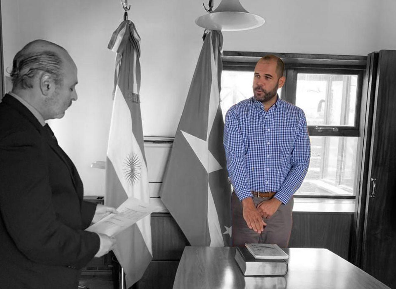 Agustín Tita juró en el Consejo de la Magistratura.