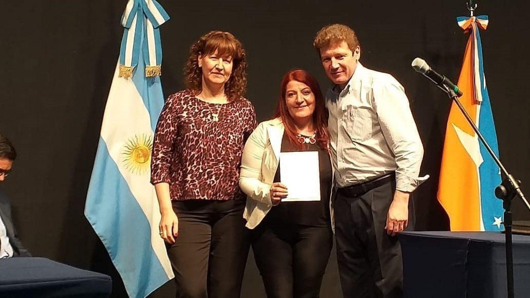 Vanina Ojeda Maldonado juró como Secretaría de Pueblos Originarios de Tierra del Fuego.