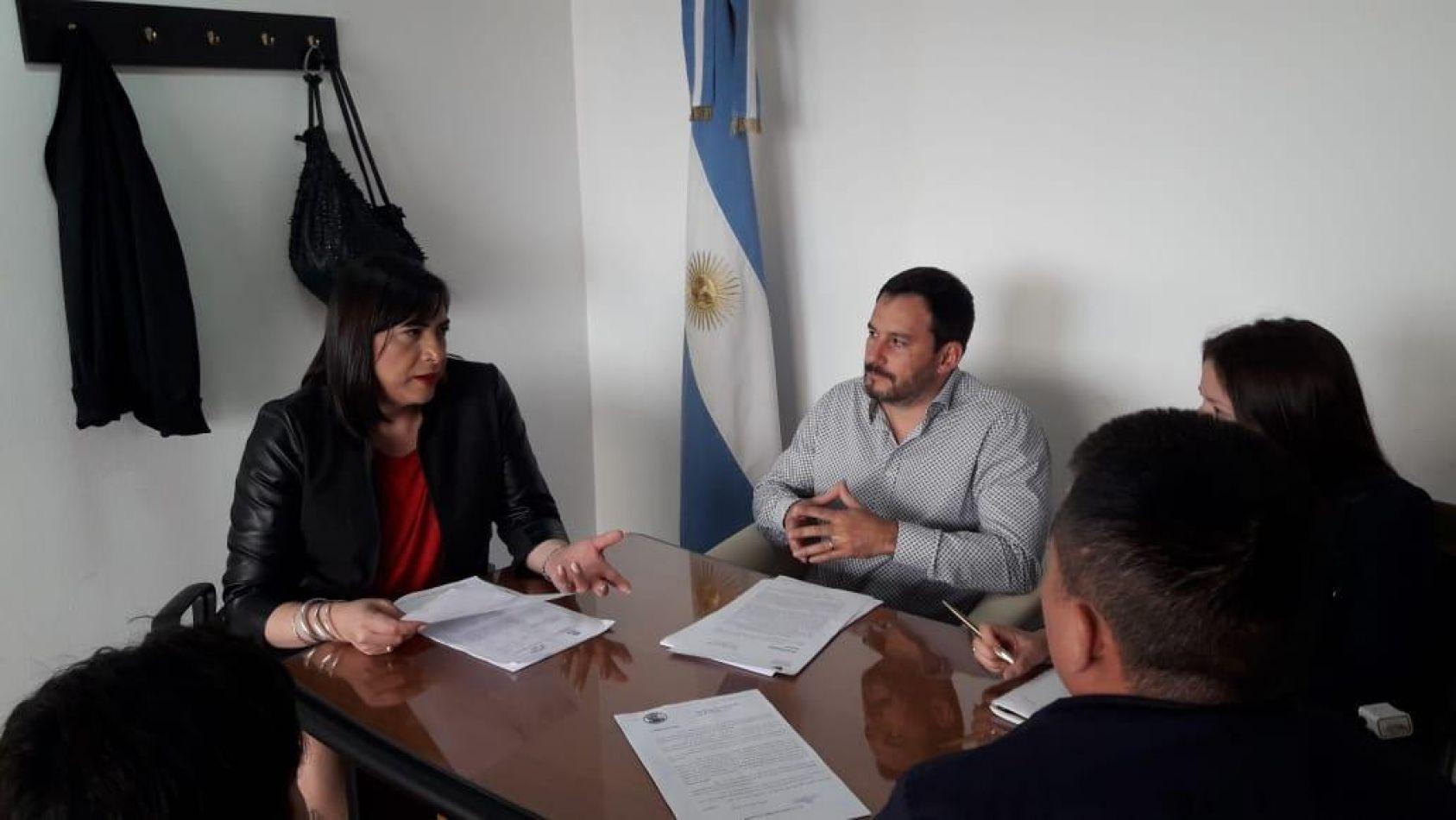 Reunión con representantes del Ministerio de Ciudadanía de Neuquén