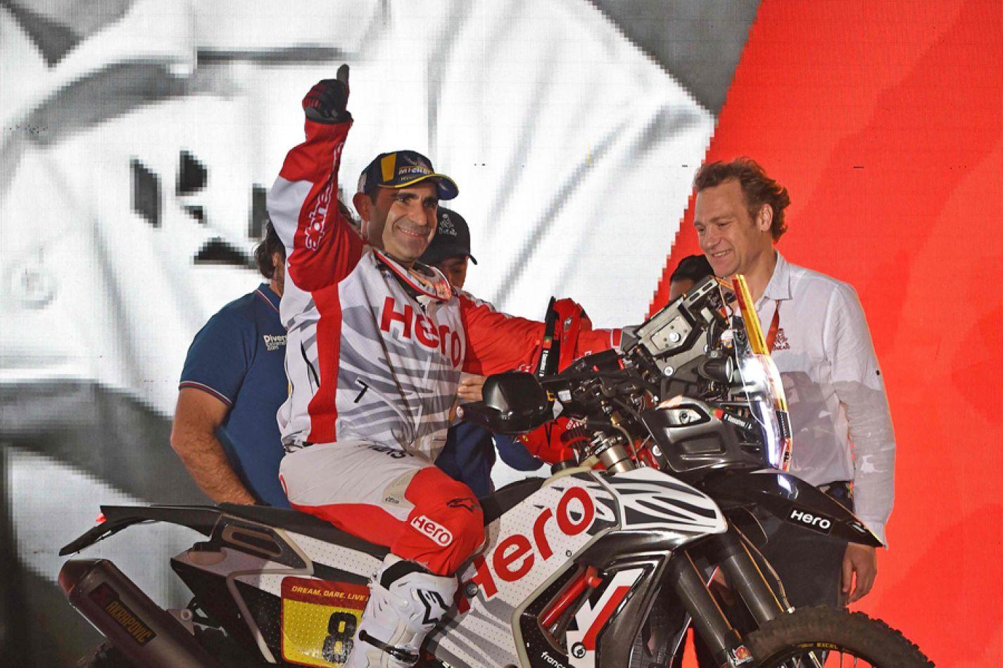 El piloto portugués Paulo Gonçalves (Hero MotoSports) murió este domingo a los 40 años