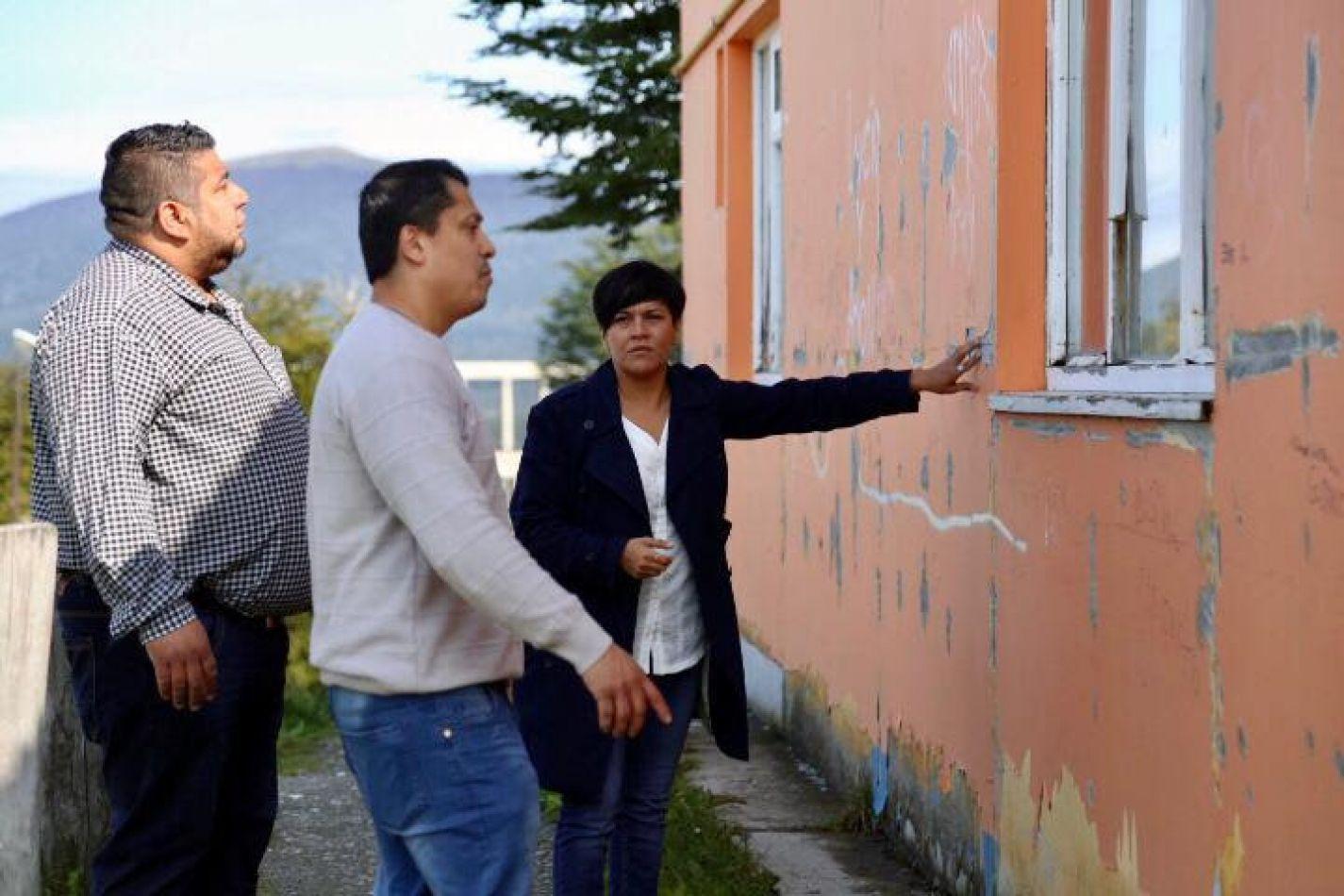 Cubino recorrió colegios de Tolhuin