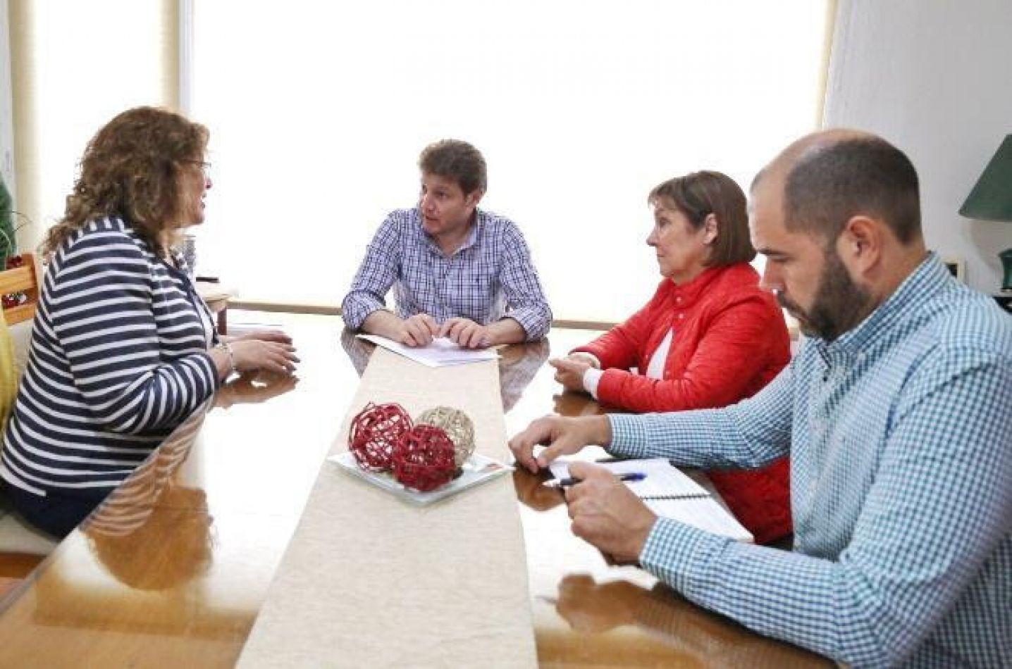 El Gobernador Gustavo Melella mantuvo una reunión con Diputadas Nacionales