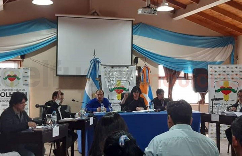 primera sesión extraordinaria del Concejo Deliberante de Tolhuin.