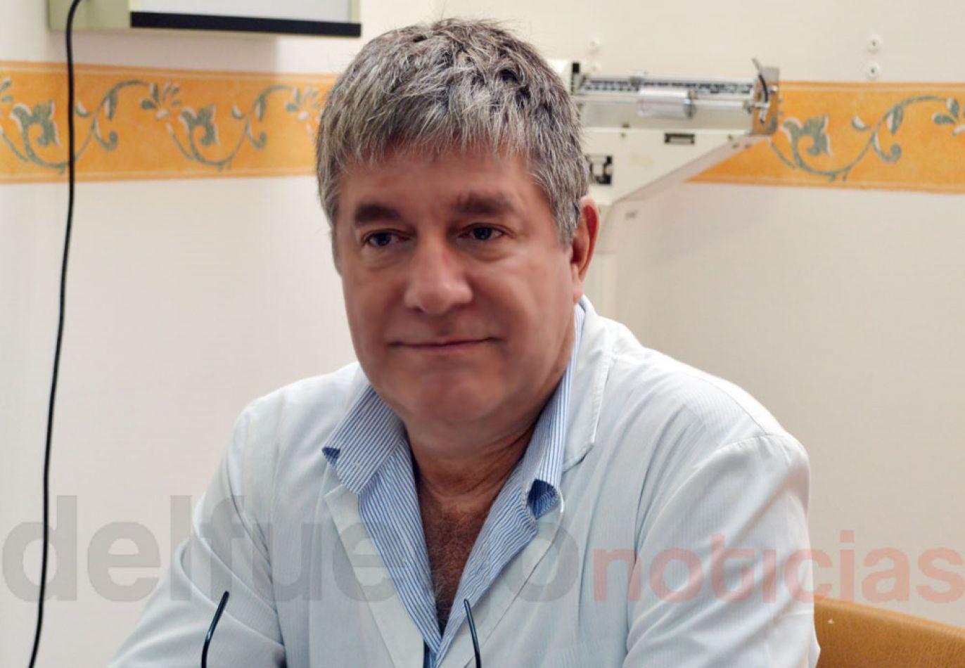 Dr. jorge Carmassi, secretario Adjunto del flamante sindicato de la salud.