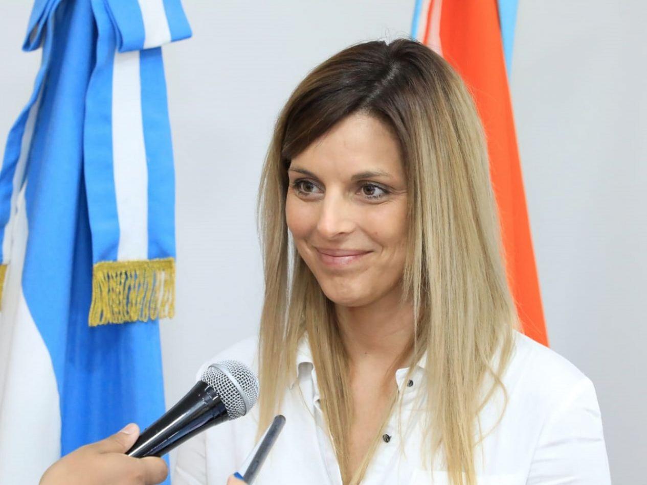 Dra. Florencia Otrino, secretaria de Salud del Municipio de Río Grande.
