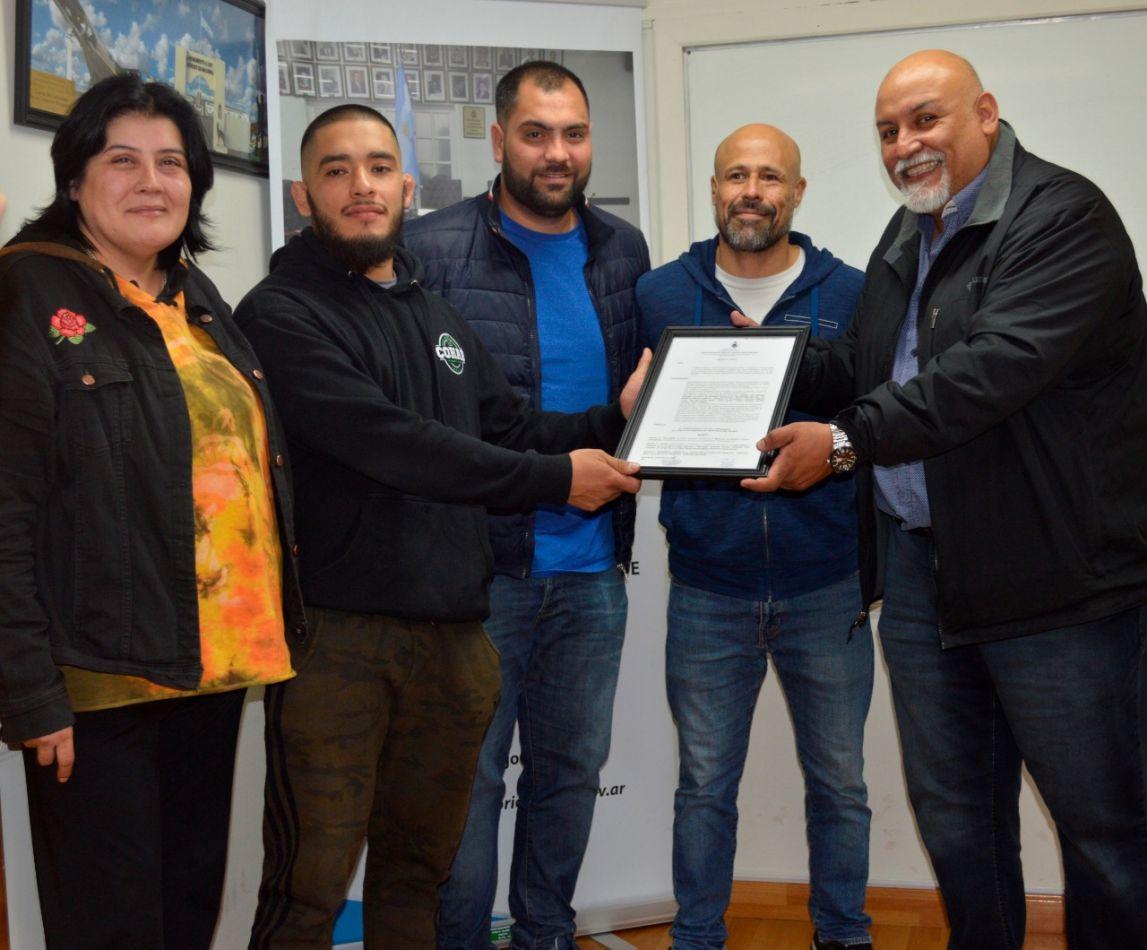 Concejales recibieron a organizadores del 2do. Seminario de Brazilian Jiu Jitsu Internacional.