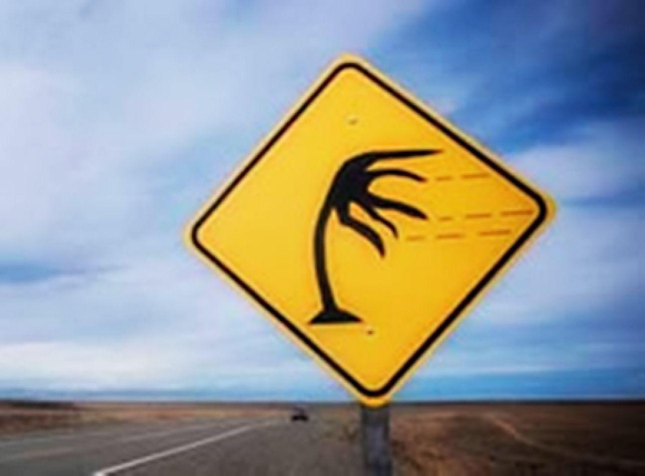 Alerta por fuertes vientos para todo el fin de semana en Río Grande