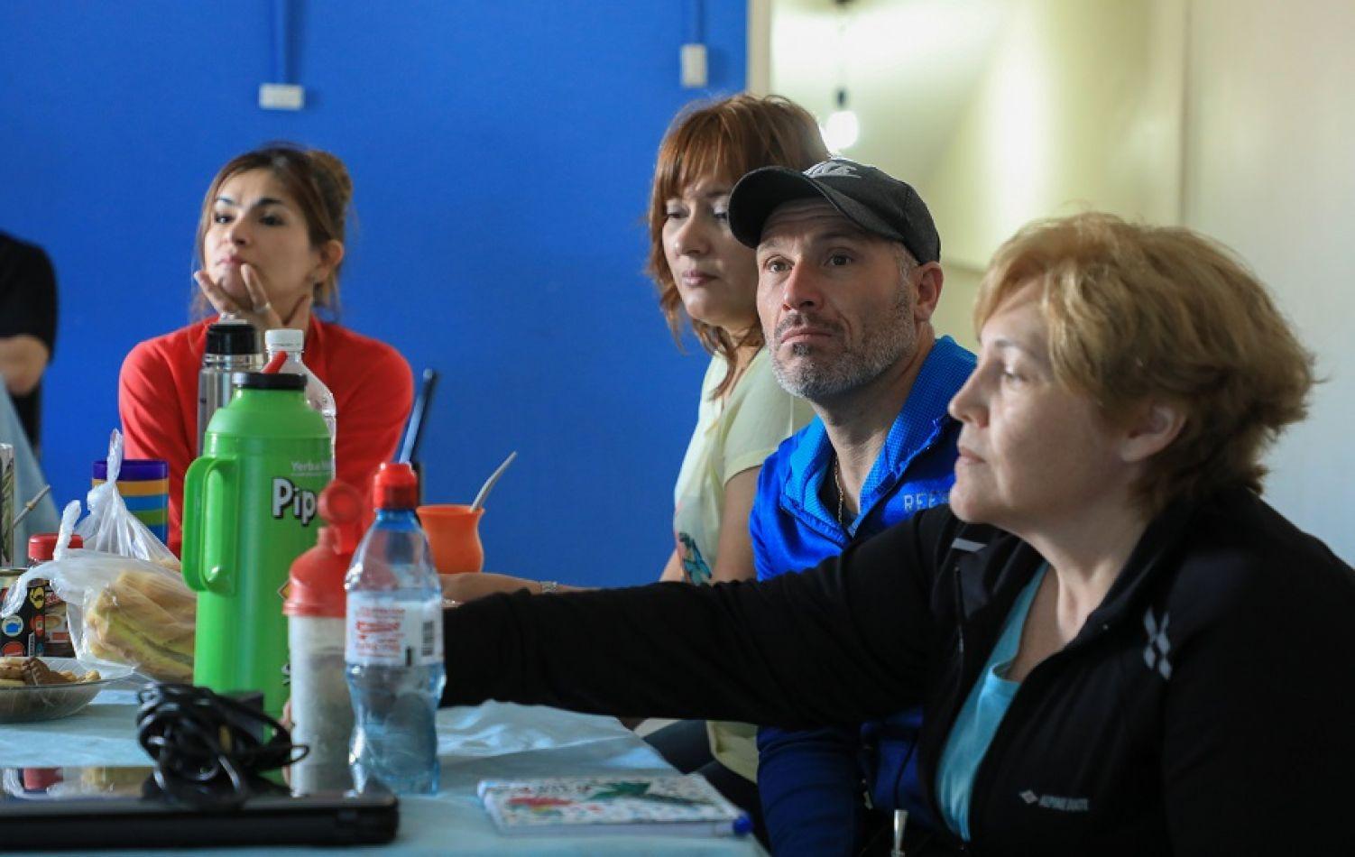 Familias de Deporte Adaptado recibieron una capacitación