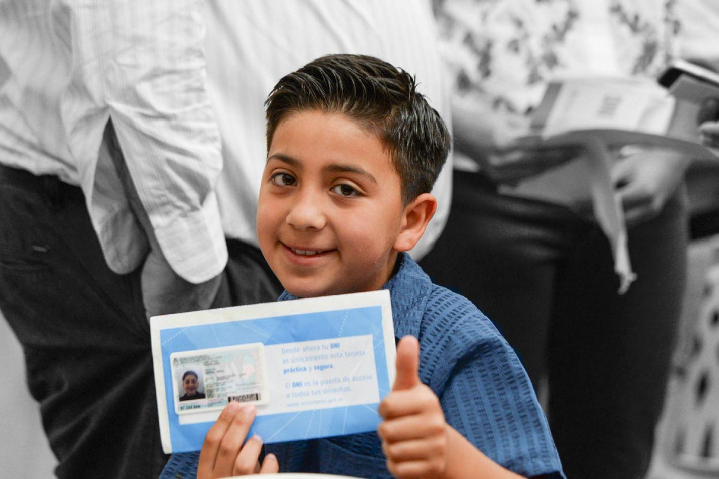 El DNI de los 8 años se puede tramitar en las escuelas