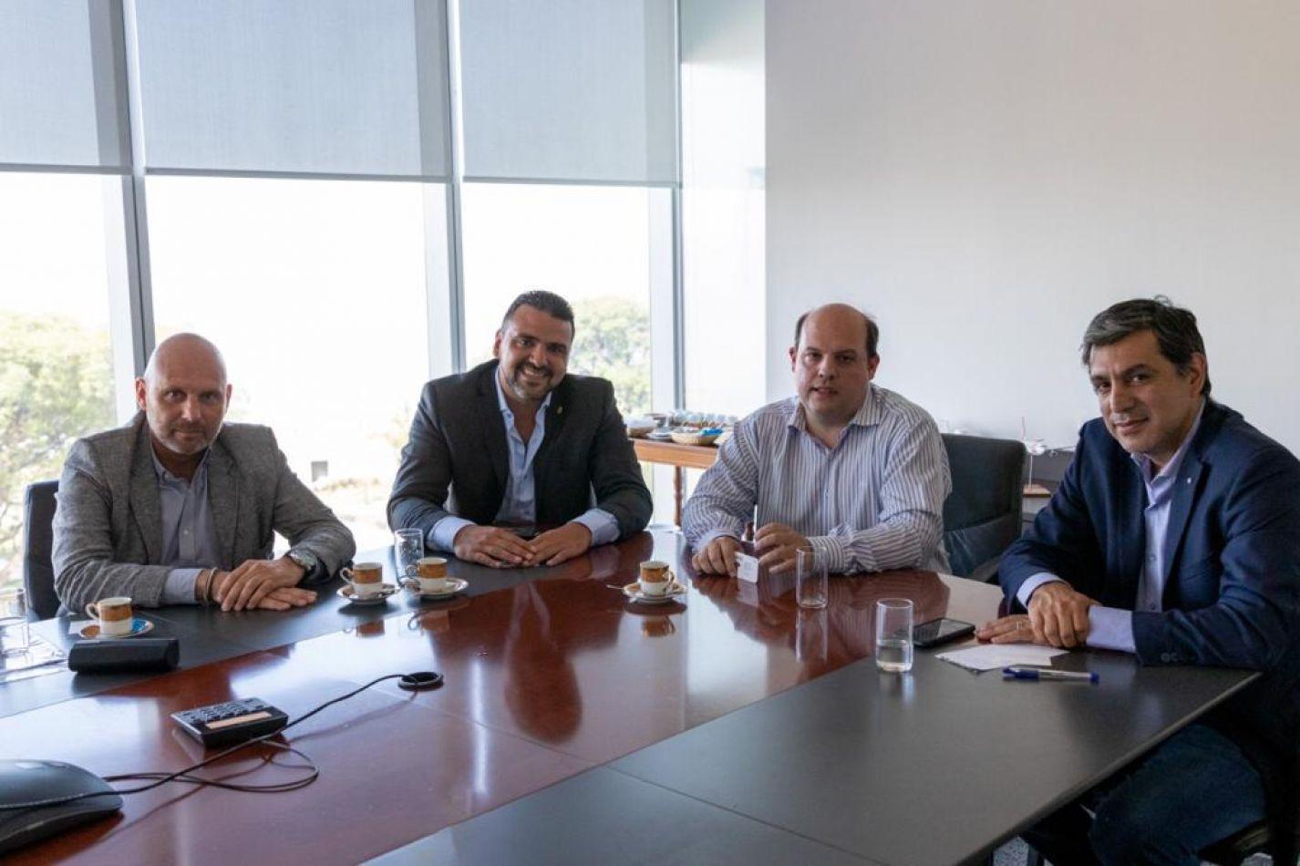 Vuoto se reunió con el presidente de Aerolíneas Argentinas