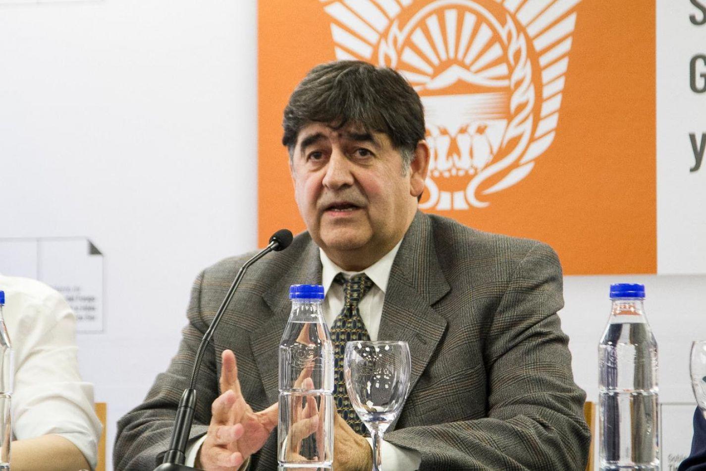 Ministro de Trabajo de la provincia, Marcelo Romero.