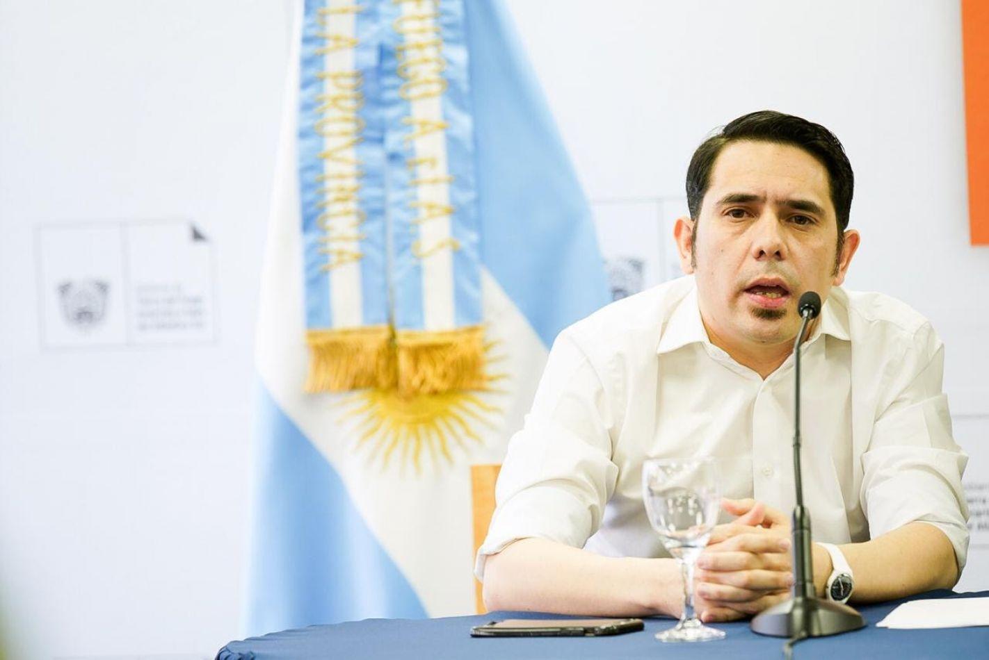 Federico Runín, secretario de Representación Política del Gobierno Provincial.