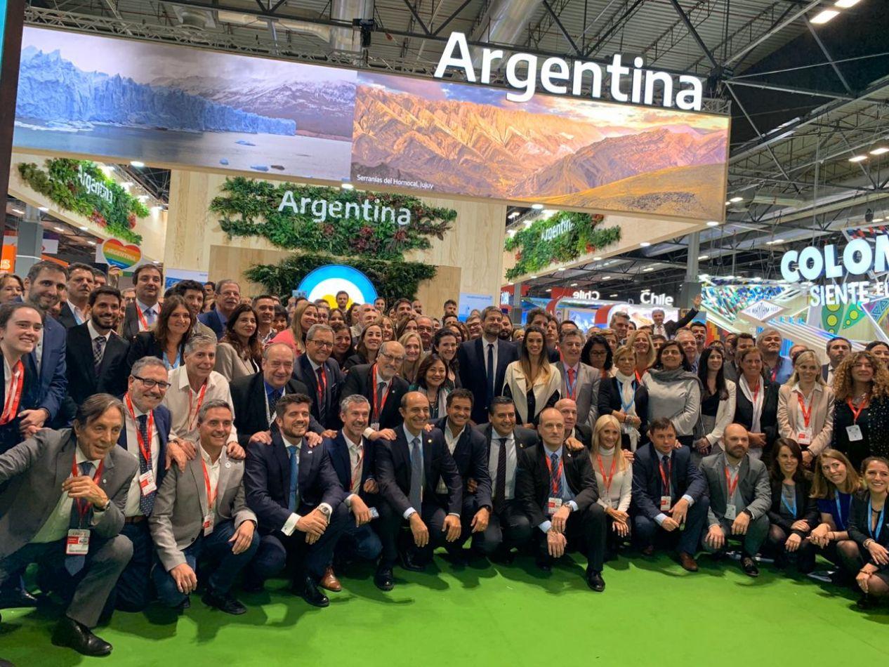 Ushuaia presente en el cierre de FITUR para empresas y operadores