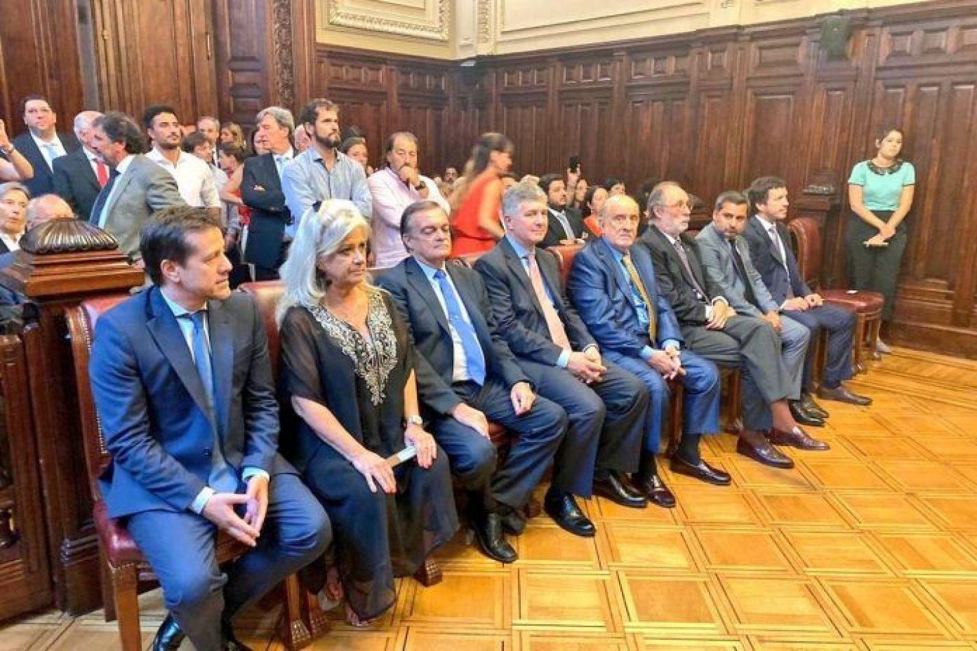 Nuevos integrantes del Consejo de la Magistratura del Poder Judicial de la Nación,