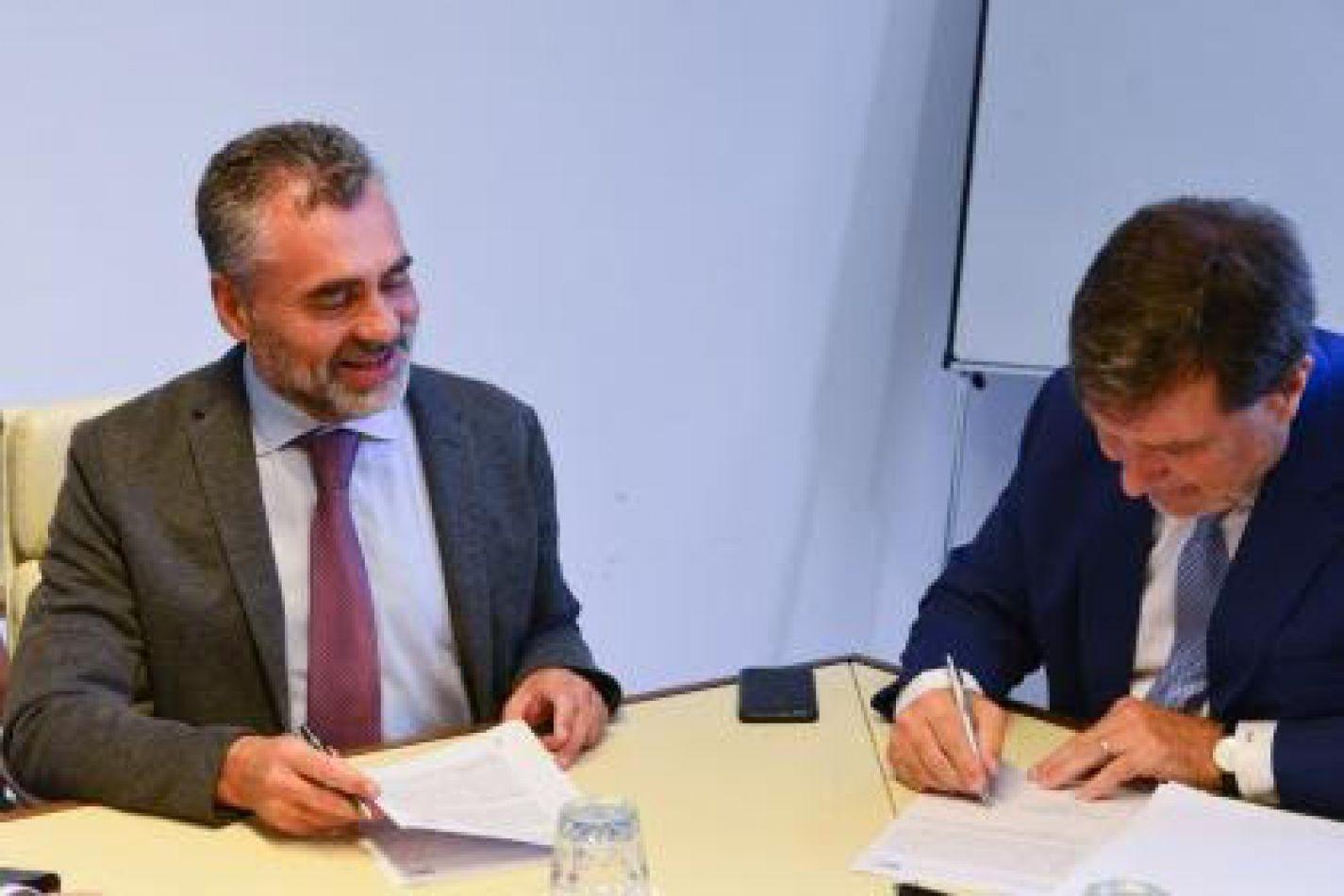 Anses y la SRT firmaron convenio de cooperación recíproca