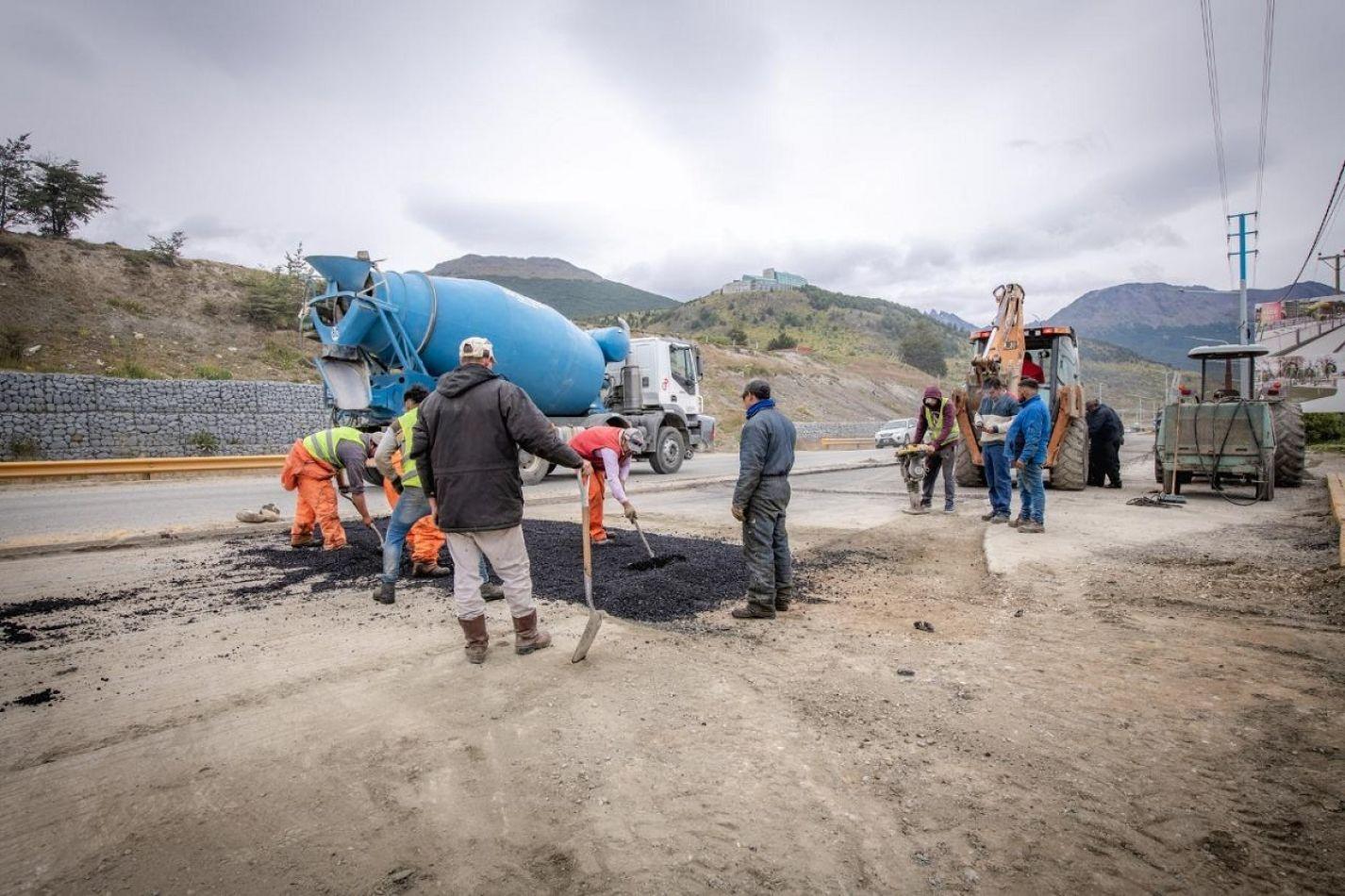Más obras en la ciudad de Ushuaia