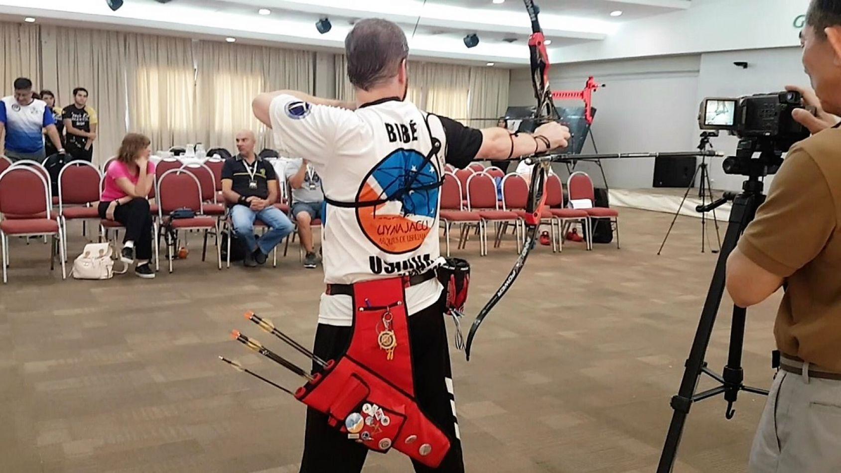 Arqueros fueguinos participaron de un seminario internacional