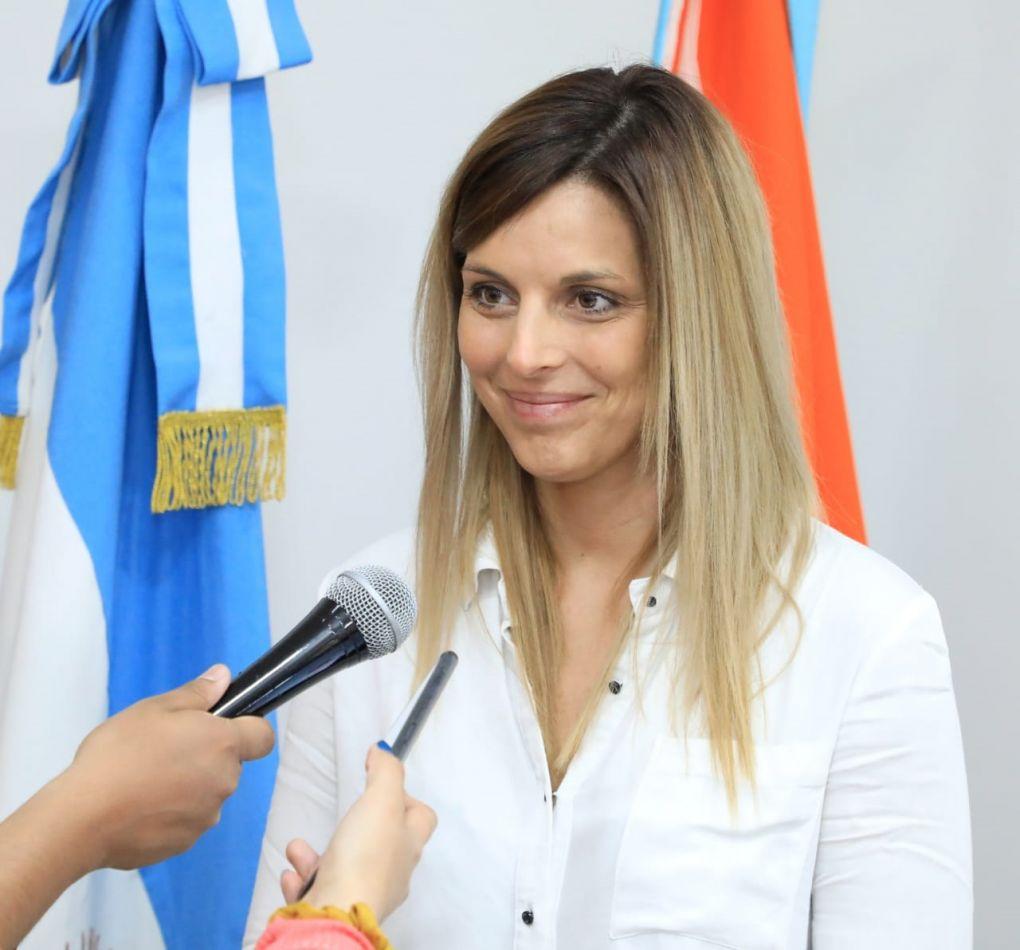 Secretaria de Salud del Municipio de la ciudad, Dra. Florencia Otrino.