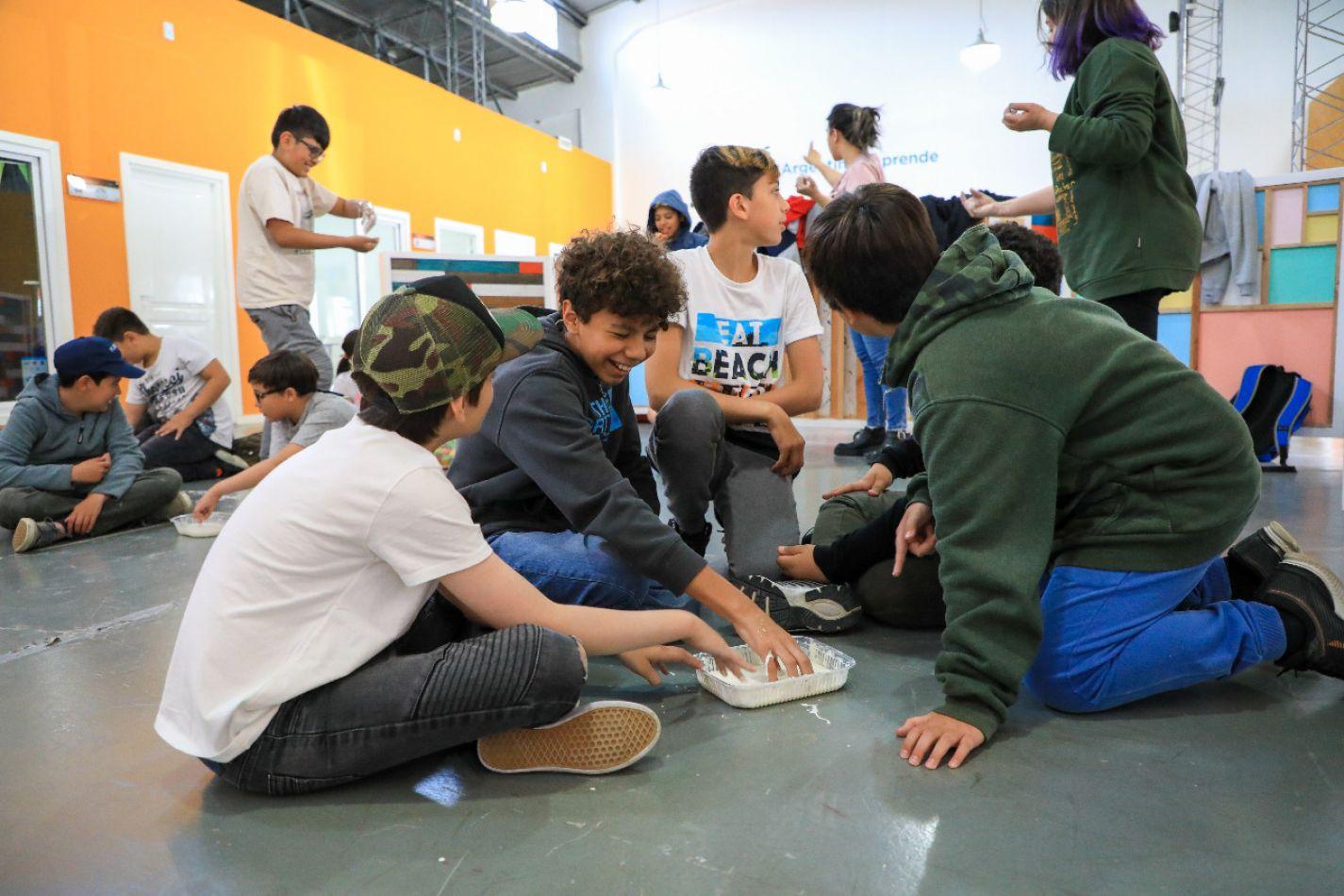 Más de 400 chicos disfrutaron de las Colonias Tecnológicas